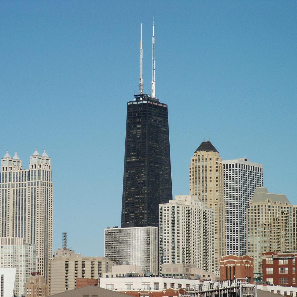 875 North Michigan in Chicago - John Hancock Center