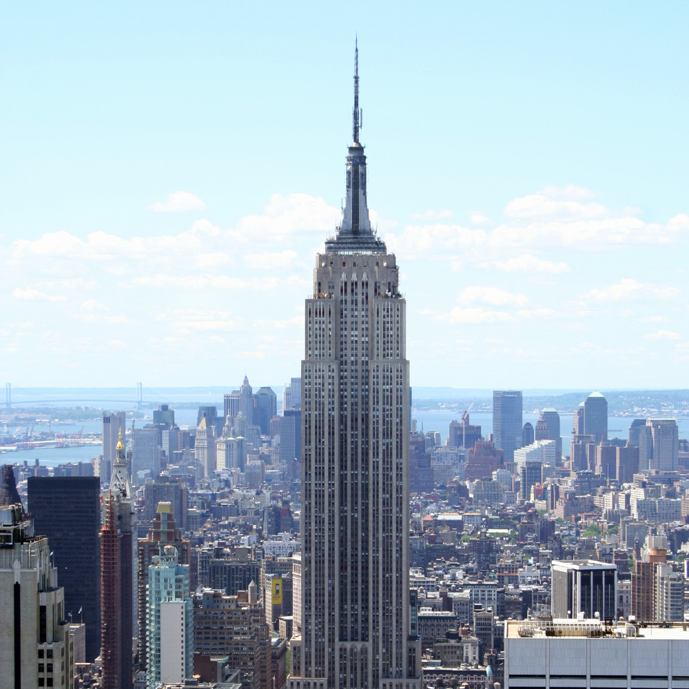 Empire State Building in New York City - ESB in NYC