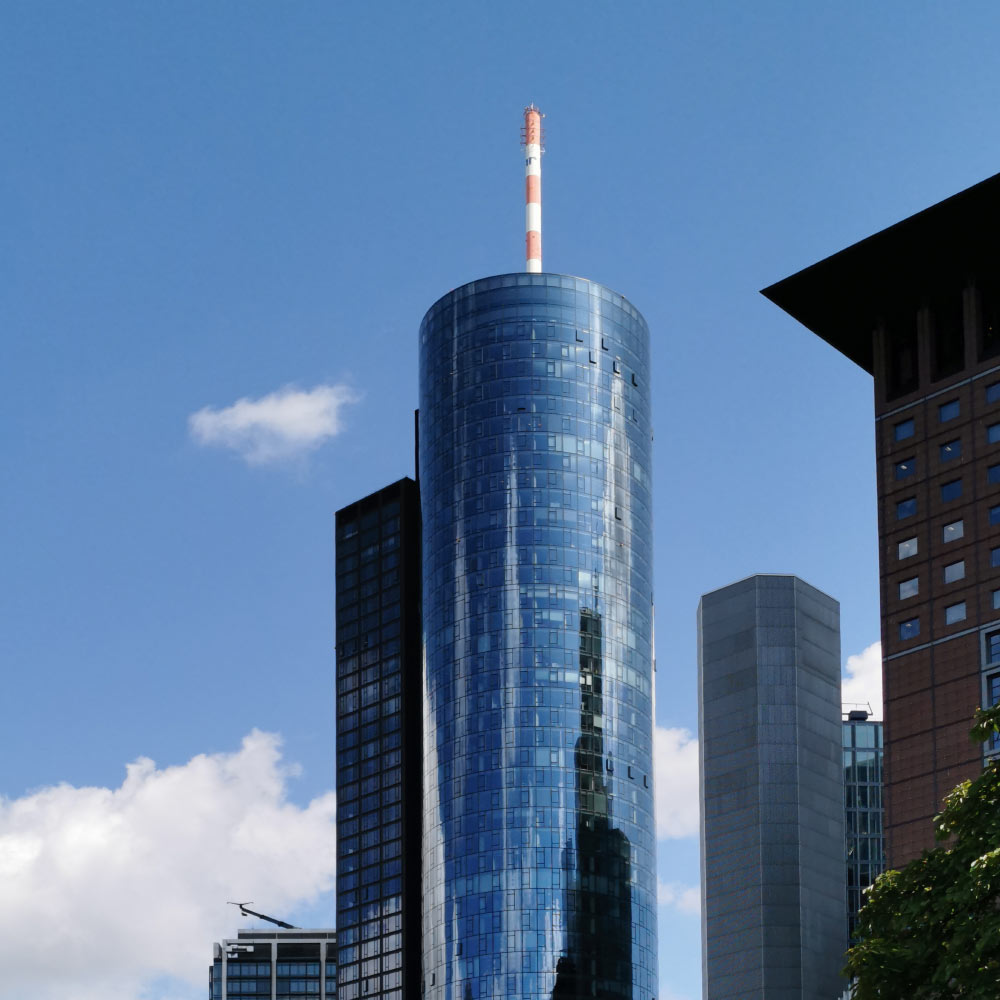 MAIN TOWER in Frankfurt