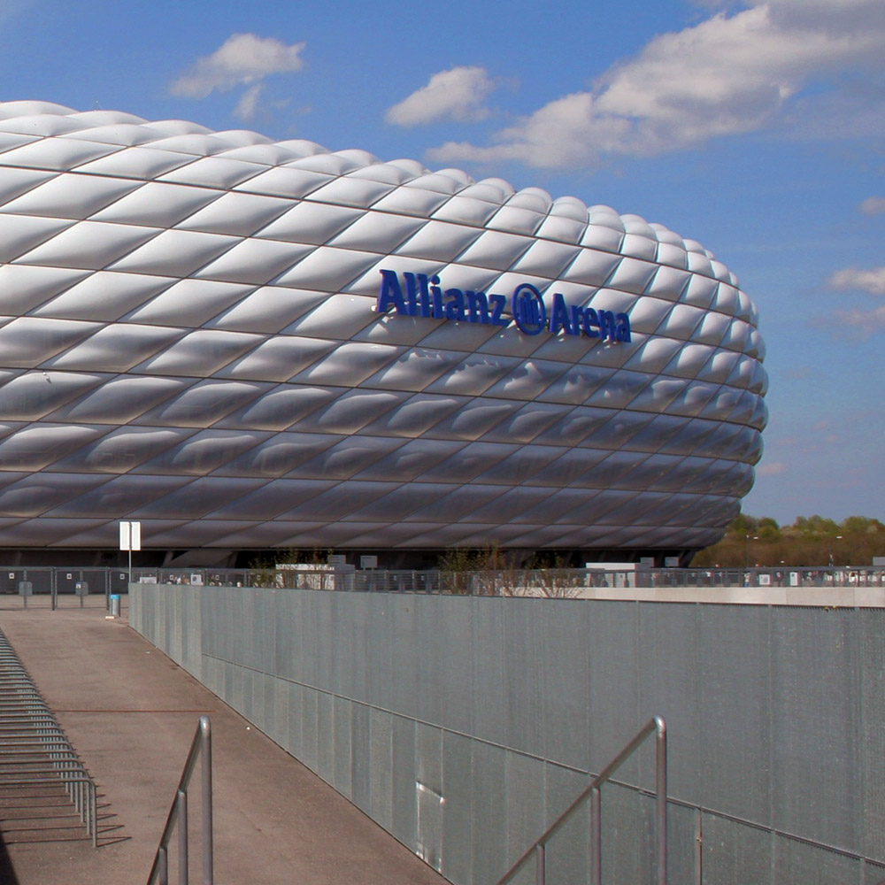 Allianz Arena Munich Germany - soccer stadium football