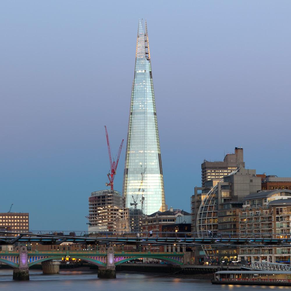 The Shard in London (UK, United Kingdom)