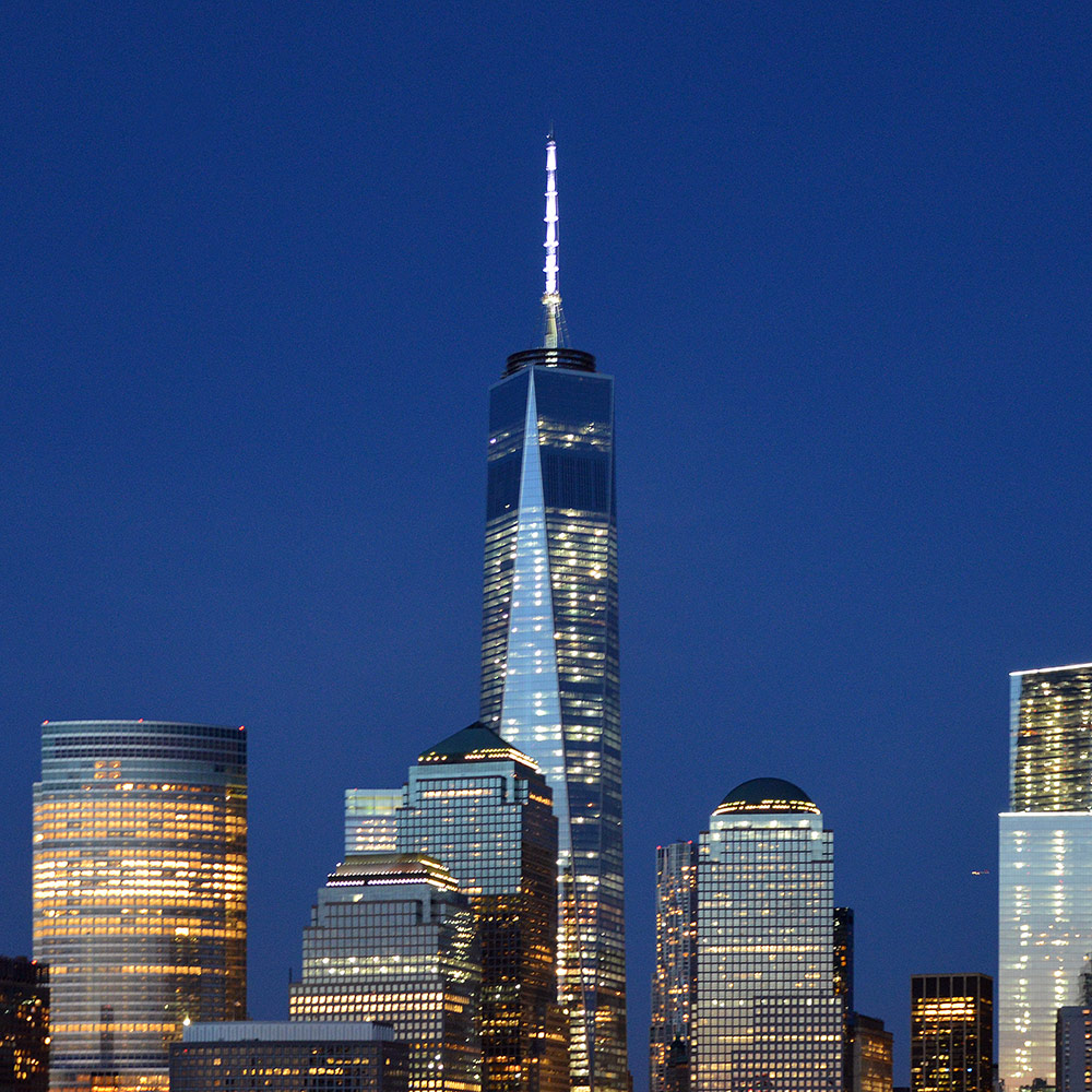One World Trade Center in New York City - 1 WTC in NYC (United States)