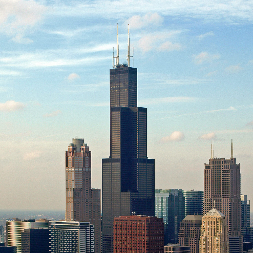 Willis Tower in Chicago (USA) - Sears Tower