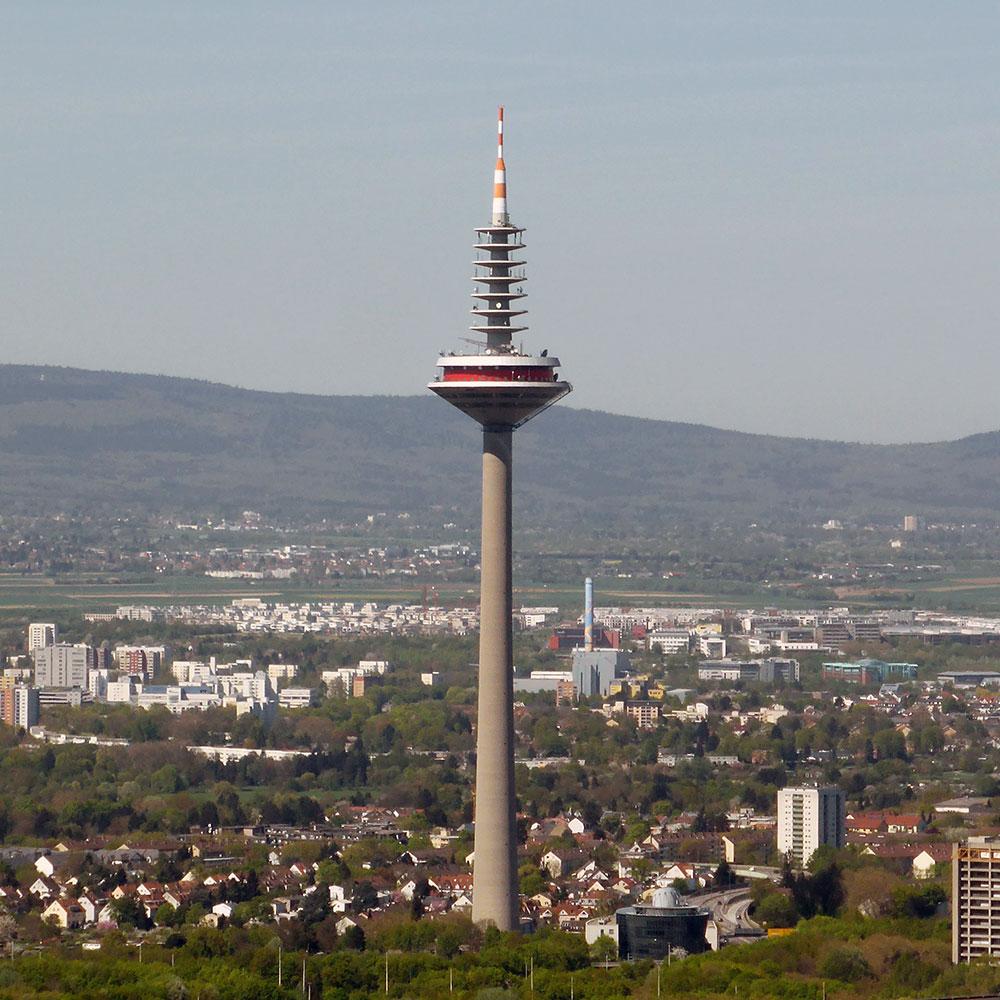 Frankfurt TV Tower - Television Tower Frankfurt, Germany - Europaturm Frankfurt