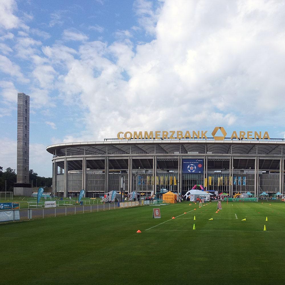 Frankfurt Waldstadion - Commerzbank Arena - Deutsche Bank Park